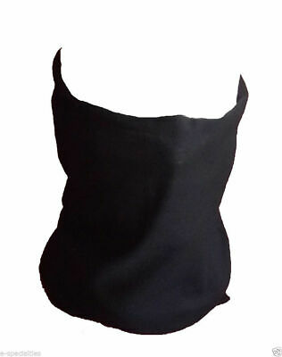 BLACK PAISLEY Seamless Tube Neck Warmer Gaiter Scarf Face Mask Bandana Ski Biker