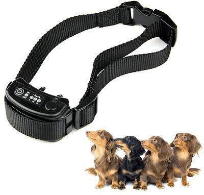 Anti Bark No Barking Tone Shock Control Training Collar for Small Medium Big Dog