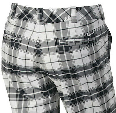 Nike Golf Women Tour Modern Rise Tartan Plaid Golf Pants $95 NWT Pick Size
