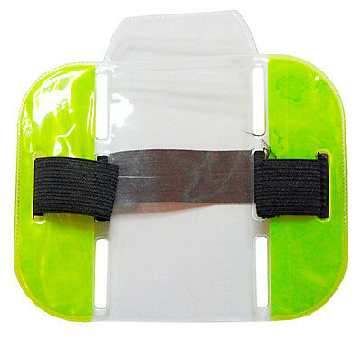 Sia Armband, Security, Marshall Event, Doorman, Neon Green, Badge Holder, Hi Viz