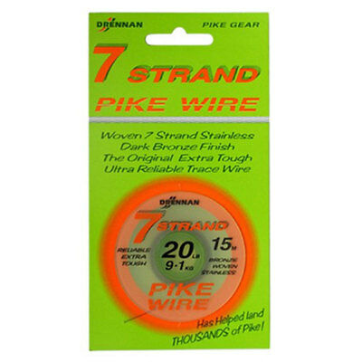 Kodex Seven Strand Trace Wire, pike & perch fishing, pike traces, trace making