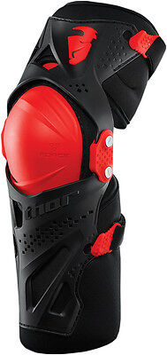 Rodilleras Mx Thor Force Xp Knee Guard Red