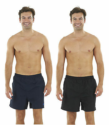 029664 Zoggs Mens Penrith Swimming Shorts - Black or Navy