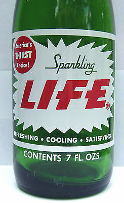 LIFE by Excel Bottling, Breese, IL. 7 oz., 1968