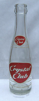 Crystal Club, 7 oz. bottle, Scranton, PA. 1950's