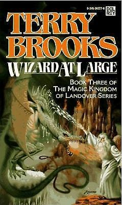 Wizard at Large (Magic Kingdom of Landover, Book 3) by Terry Brooks (Paperback)