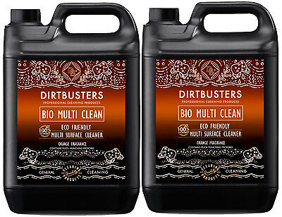 General purpose cleaner multi surface cleaning floor wall kitchen bathroom 2 x5L