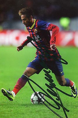 Photo de Neymar signature autographe E1!!!!!!!!!!!!!!!!!!!!!!!!!!!!!!!!!!!!!!!!!