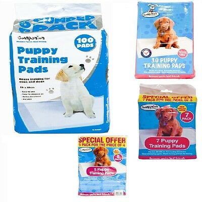 Dog Puppy House Super Absorbent Training Trainer Pads Toilet Wee 60X60/58/40