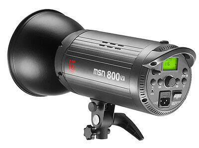 Jinbei MSN 800V Studio Flash with 1/8000s High Speed Sync is Upgraded of MSN II