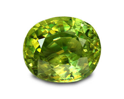 1.51 Carats Natural Madagascar Sphene Loose Gemstone - Oval