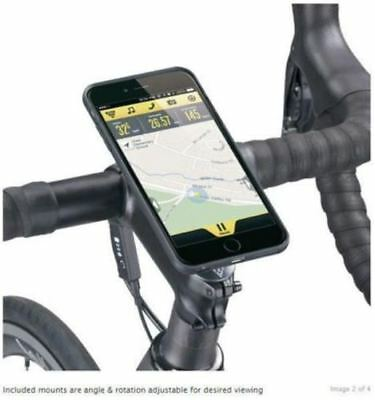 Topeak RideCase to suit iPhone 6+ PLUS Handlebar Mount Case Touch BLACK TT9846B