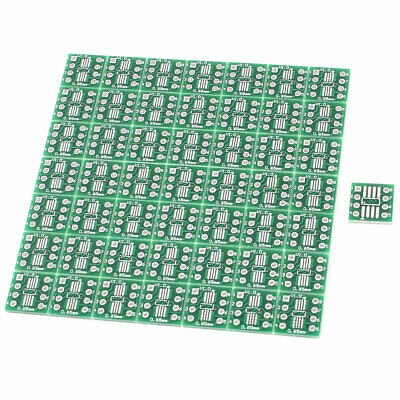 50Pcs SO8 SOP8 SSOP8 TSSOP8 SMD To DIP8 Adapter 0.65/1.27mm Converter PCB Board