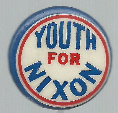 Youth For Nixon, 1960 Campaign Pin