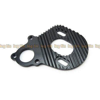 Alloy Motor Plate w/ Heat Sink Black for Axial Wraith [LT10000bk]