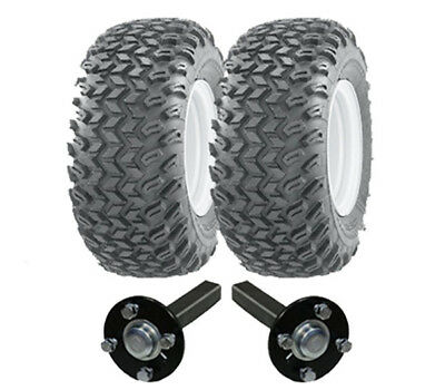 ATV trailer kit - Quad trailer - wheels + hub / stub axles, heavy duty 900kg