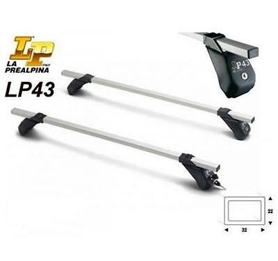 BARRE PORTATUTTO LP47 PREALPINA PER GREAT WALL STEED PICK-UP DAL 2009