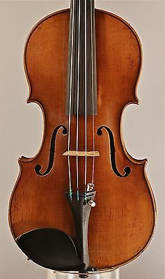 Old, Antique, Vintage 3/4 size violin Strad copy, Martin made in Markneukirchen