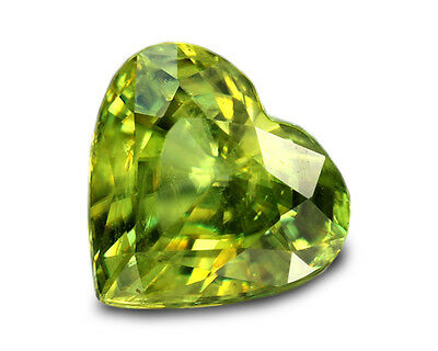 3.32 Carats Natural Madagascar Sphene Loose Gemstone - Heart