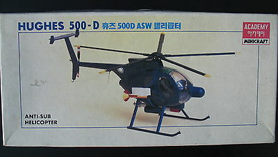 ACADEMY 1645 - HUGHES 500-D ASW - Anti Sub Helicopter - 1:48 - Hubschrauber -KIT