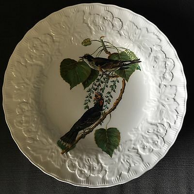 Vintage KINGBIRD #79 by Alfred Meakin England Bird Plate-EXCELLENT Condition!