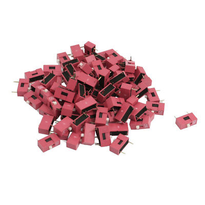 120 Pcs 2.54mm Pitch 1 Position Slide Type DIP Switches
