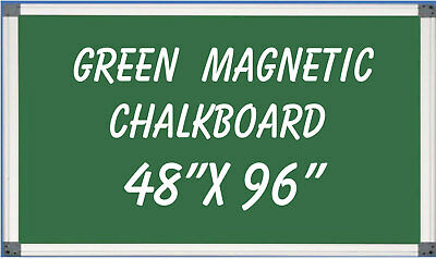 Magnetic Green Chalkboard Menu Sign Board 48 x 96