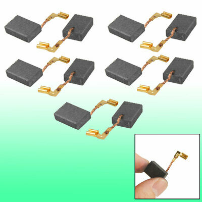 """10 Pcs Electric Drill Motor Carbon Brushes 5/8"""" x 7/16"""" x 1/5"""""""