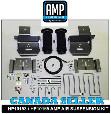 2010 - 2015 F150 2WD 4WD HP10155 Heavy Duty Quality Ford Air suspension Bag Kit