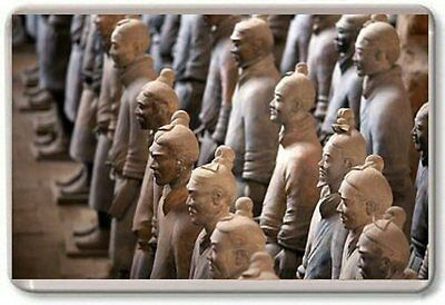 The Terracotta Army Fridge Magnet