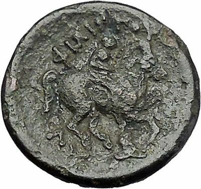 LYSIMACHOS 305BC Olympic Games Victory Horse Event asPhilip II Greek Coin i47515