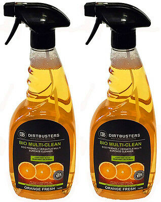 General purpose cleaner multi surface cleaning floor kitchen bathroom 2 x 750ml