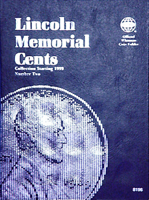Whitman Lincoln Memorial Cents Penny Coin Folder Book #2 1999-2008 #8196