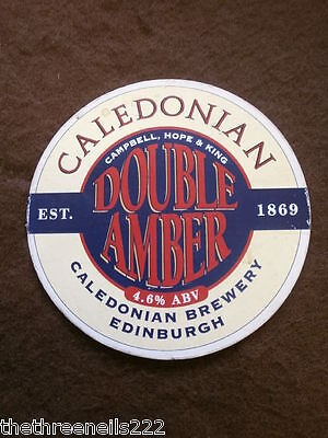 Beer Pump Clip - Caledonian Double Amber