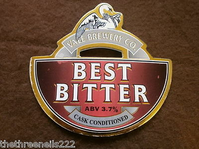 Beer Pump Clip - Vale Best Bitter