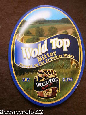 Beer Pump Clip - Wold Top Bitter