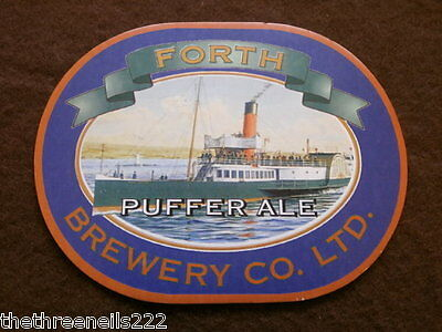 Beer Pump Clip - Forth Puffer Ale