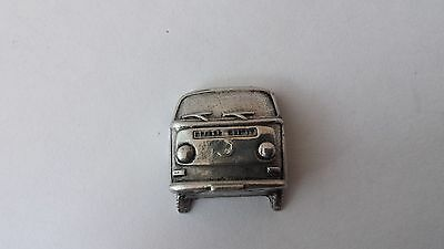 Campervan Front View  Car fine english pewter car pin badge