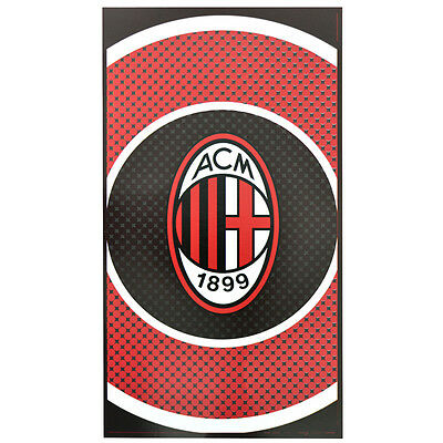 AC Milan F.C Official Bullseye Towel 100% Cotton
