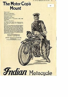 Poster//Print Indian /'Motocycle/' Poster-Vintage Style Poster//17x22 Motorcycle