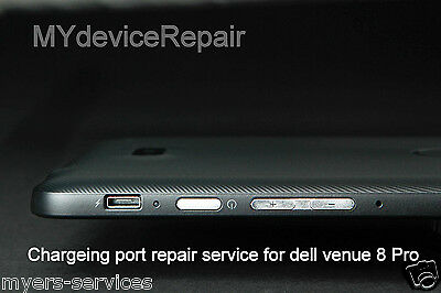 DELL Venue Pro 8 Tablet REPAIR  for  Micro USB Charging Charge Port Connector