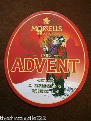 Beer Pump Clip - Morrells Advent