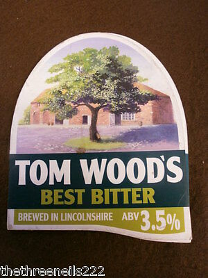 Beer Pump Clip - Tom Wood's Best Bitter