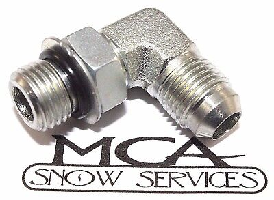 "WESTERN SNOW PLOW #92275 MALE ELBOW 1//4/"" X 90"