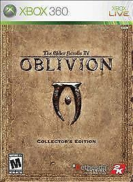 The Elder Scrolls IV Oblivion Collectors Edition NO COIN XBOX 360  COMPLETE