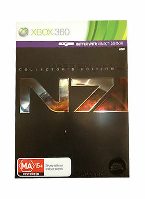 Mass Effect 3 Collectors Edition XBOX 360 COMPLETE