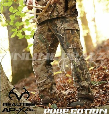 Realtree Camo Hunting Pants Cargo Camouflage Fishing Archery Army CLOTHING