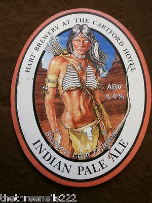 Beer Pump Clip - Hart Indian Pale Ale
