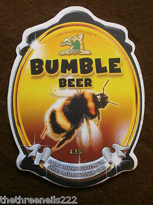 Beer Pump Clip - Wentworth Bumble Beer