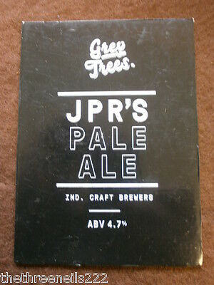 Beer Pump Clip - Grey Trees Jpr's Pale Ale